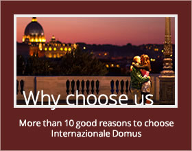 10 good reasons to choose Internazionale Domus